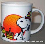 Snoopy and Woodstock with Cake Mug