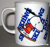 Snoopy Skiing