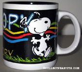Snoopy Dancing CTI Industries Mug