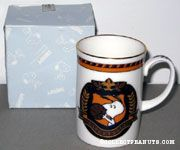 Snoopy basketball Emblem Mug