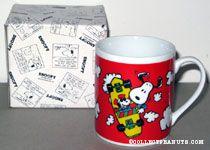 Snoopy skateboard tricks Mug