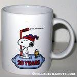 Snoopy & Woodstock with Hockey Sticks 'Snoopy's Senior World Hockey Tournament 1994' Mug