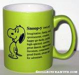 Snoopy definition Mug