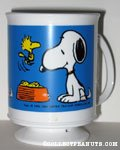 Snoopy & Woodstocks with supper dish Mug