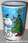 Snoopy & Woodstock Christmas Melamine Cup