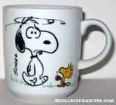 Snoopy & Woodstock 'Morning' Mug