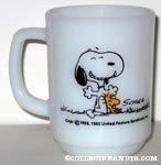 Sitting Snoopy & Woodstock Mug