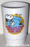 Snoopy & Woodstock laughing 'There are times when life is pure joy' Cup