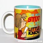 Peppermint Patty 'The More I Study...' Mug