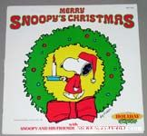 Merry Snoopy's Christmas Record