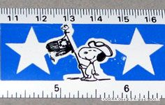 Snoopy American History ruler