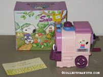 Snoopy on Pink Train pencil sharpener