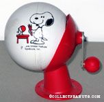 Snoopy holding sharpened Pencils pencil sharpener