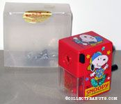 Snoopy wearing outfit & hat dancing pencil sharpener