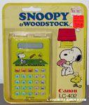 Snoopy & Woodstocks playing Tennis Calculator