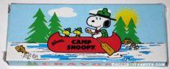 Camp Snoopy Logo Box of Crayons