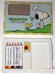 Snoopy & Woodstock walking Colored Pencil Set