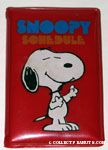 Snoopy with arm raised 'Snoopy' Schedule