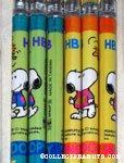 Snoopy wearing a sweatshirt & Woodstock Pencils