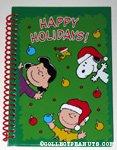 Peanuts Gang 'Happy Holidays' Spiral-Bound Journal