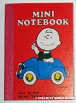 Charlie Brown in Blue Car Notebook