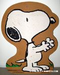 Snoopy standing and holding arms out Bulletin Cork Board