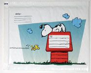 Snoopy and Woodstock on Doghouse