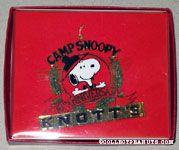 Knott's Camp Snoopy 10th Anniversary Metal Ornament