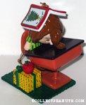 Peppermint Patty asleep at desk Ornament