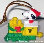 Santa Snoopy on Train Car