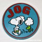 Snoopy & Woodstock 'Jog' Button
