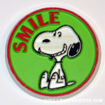 Snoopy 'Smile' Button