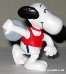 Snoopy with Discus