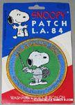 Snoopy fencer Patch