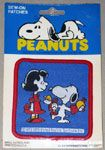 Lucy & Snoopy with Pawpets Puppets Patch