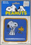 Snoopy & Woodstock Laughing Patch