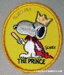 Snoopy wearing crown - The Prince, Patch