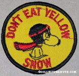 Flying Ace 'Don't Eat Yellow Snow' Patch