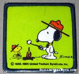 Beaglescout Snoopy & Woodstock roasting marshmellow Patch
