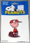 Charlie Brown in baseball uniform Patch