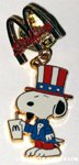 American Snoopy Staffing McDonald's Pin