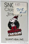 Snoopy in Christmas Wreath 'Snoopy Fan Club' Pin
