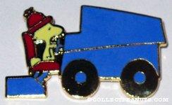 Woodstock driving Zamboni Pin