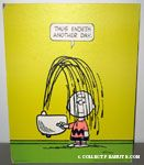Charlie Brown drinking fountain shower Poster