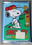 Snoopy & Woodstock golfing Playing Cards