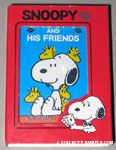 Snoopy sitting with peeking Woodstocks Playing Cards