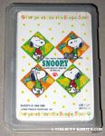 Snoopy with fruits Playing Cards