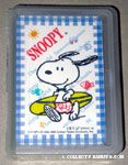 Snoopy surfer Playing Cards