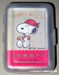 Snoopy holding Biscuits Mini Playing Cards