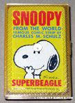 Snoopy portrait Mini Playing Cards
